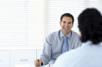 Vermögensberater, Beratungsgespräch, Berater
